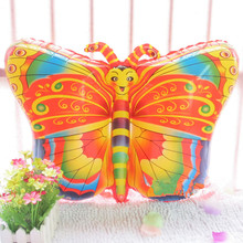 Colorful Butterfly Shape Aluminum Foil Balloons Animal Balloon Children Inflatable Classic Toys Helium Ballons Party Decoration