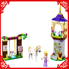 BELA 10564 Friends Rapunzel's Best Day Ever Building Block 145Pcs Educational  Toys For Children Compatible Legoe