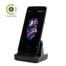 CharmTek USB Type-c Sync Charge Dock Charger Charging Cradle For Huawei Mate 9 Honor 8 Oneplus 5 3 3T Support Dash Charge QC 3.0