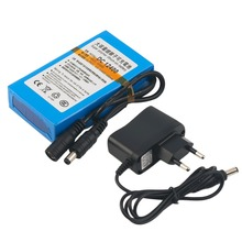 DC 12V Super Strong Capacity 4000MAH Rechargeable Li-ion Battery Powerful Li-ion Battery For CCTV Camera Blue