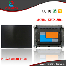 2K/4K HD P1.923 indoor small pitch full color led display slim cabinet for advertising meeting,stage,monitoring,Conference,malls(China)