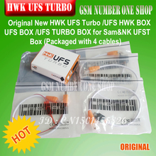 gsmjustoncct Original New UFS Turbo box HWK for Sam NK UFST Packaged with 4 cables(China)