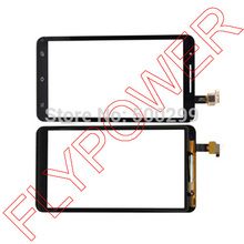 for Star Note2 N9776 MTK6577  Touch Screen Digitizer panel glass black by Free Shipping