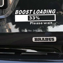Newest Design Funny Car Stickers decal Turbo Charger Boost Loading for Tesla Volkswagen golf 7 Ford Chevrolet Honda Hyundai Lada