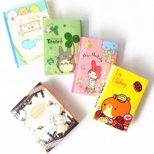 1pack/lot Cute Japan cartoon collection series Fold style Memo pad Post It message nice mini paper Bookmark Message note(China)