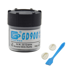 GD 30g Gray Nano GD900 Containing Silver Thermal Conductivity Grease Paste Silicone Heat Sink Compound 4.8W/M-K For CPU(China)