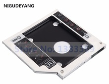 NIGUDEYANG 2nd Hard Drive SSD HDD Caddy for Dell Inspiron 17 5758 7737 i7 i5 SU-208CB DVD