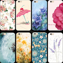 6 6S Magic Stunning Pretty Girl Painted Flower Cover Case For Apple iPhone6 iPhone6S iPhone 6 Cases Phone Shell Best Choose Hot
