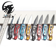 Jelbo 8 Style Pocket Folding Knife Hunting Camping Folding Knife Hand Tools Mini Knife Key Ring Outdoor Survival Tool(China)