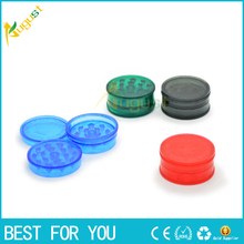 10PCS/LOT Hot product cheap price 10pcs/lot Herbal Herb Grinder Tobacco Smoke Crusher Hand Muller 3 Layer(China)