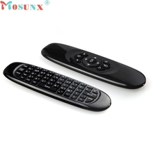 Mosunx Top Quality RF 2.4G Wireless Remote Control Keyboard Air Mouse For XBMC Android TV Box 10 Meters Control Distance Mar25