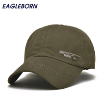 EAGLEBORN 2017 Unisex Spring Casual Baseball Cap Fashion Snapback Hats Adjustable casquette bone Cotton Hat for Men Women(China)