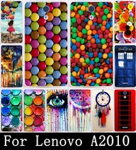 Soft TPU Mobile Phone Case for Lenovo A2010 Case DIY Painted Cover Hard Plastic Shell Skin Paintbox Chocolate Candies Silicon