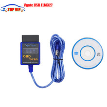 Lowest price A quality mini Vgate USB ELM327 OBD 2 / OBDII ELM 327 V1.5 diagnostic tool very fast shipping(China)