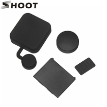 SHOOT 4 in 1 GoPro Hero 3 lens Cover Accessories Kits Housing Lens Cap Replacement Battery Door Cover For GoPro 3