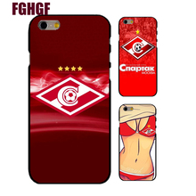 hot sale Spartak Moscow cell phone case for iPhone 4 5s SE 5c 6 6s Plus 7 7plus 8 8PLUS X (hard  case)