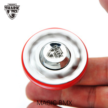 5pcs/lot Magic Shark TIME MACHINE Spinner Mini Fidget Spiners Pure Stainless Steel Hand Spinner Metal Focus EDC Stress Reliever