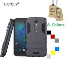 HATOLY For Motorola Moto X Force Case Hard Rubber Back Case for Moto X Force Cover For Moto Droid Turbo 2 XT1585 XT1581 (