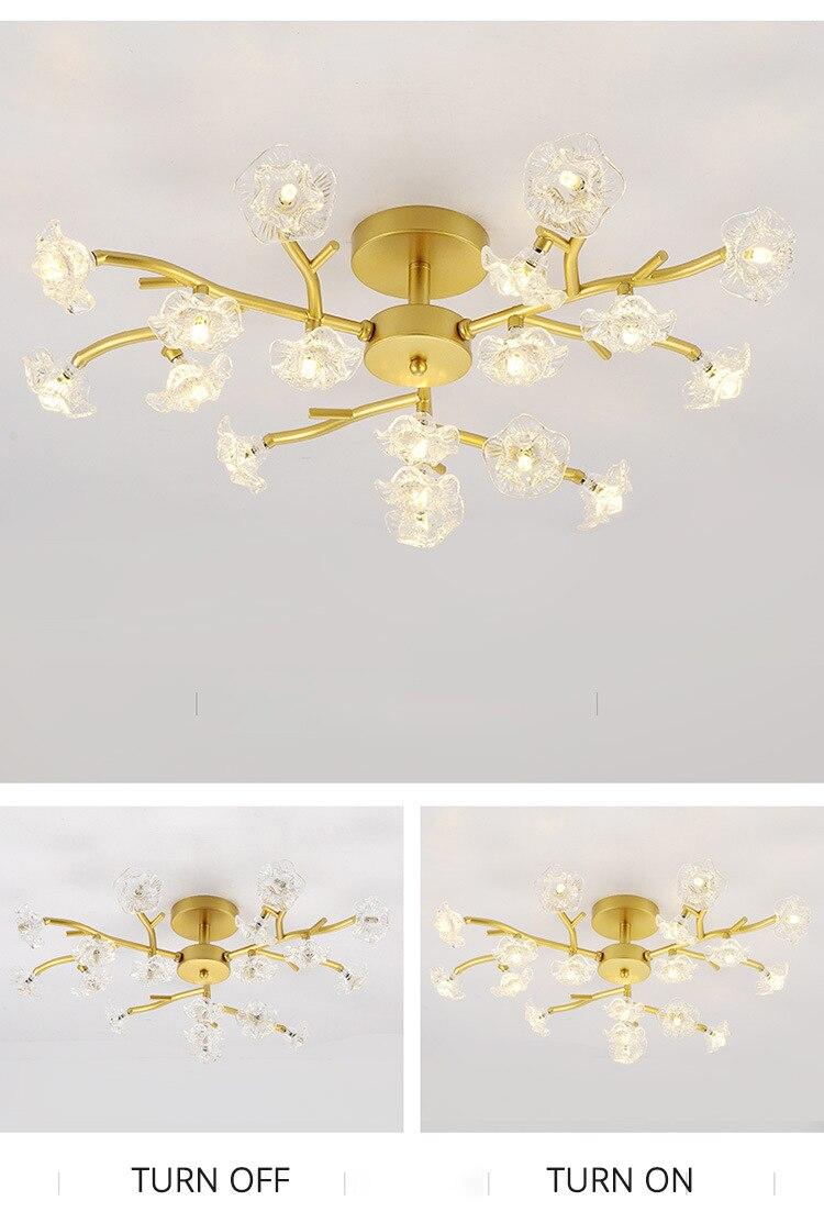 DX Vintage Flower Ceiling Light (10)
