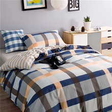 100% Cotton Single Bedding Set Bedding Stripe High Quality Twin Size Factory Direct Selling Wholesale