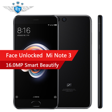 Global ROM Xiaomi Mi Note3 Note 3 6GB 64GB Smartphone Snapdragon 660 Octa Core 5.5'' FHD 12MP Rear 16MP AI Beauty Front Camera(China)