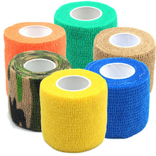 LNRRABC Hot 6Colors Self Adhesive Ankle Finger Muscles Care Non-woven Fabrics Wrist Support Medical Bandage(China)