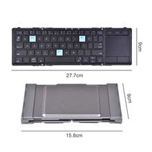 Wireless Bluetooth Keyboard Multi-device Three Devices Switch Shift in Seconds Support Touchpad for computer desktop PC tablet(China)
