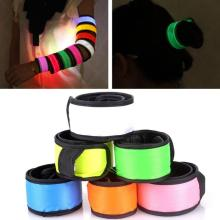 LED Light Bracelet Glows Flashing Blinking Bangle Wristband Strap Stick Party Supplies