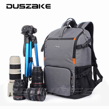 "DSLR Camera Photo Backpack Padding Divider Insert with 15"" Laptop Pack Travel Bag for Canon 5D 7D 600D Nikon D7200 Sony a6000 28"
