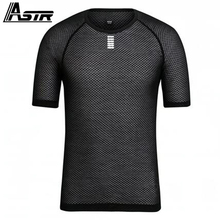 High-Vis Pink Pro Team Base Layer Short Sleeve 100% ITLAY MITI Fabric cycling shirt men or women elite Mesh cycling underwear(China)