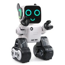 In Stock JJRC R4 Multifunctional Intelligent 2.4Ghz RC Robot Toys Great Companion White(China)