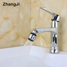 ZhangJi Kitchen Bathroom Water Saving Faucet Aerator High quality metal material 2 mode aerator shower head Free Shipping ZJ004