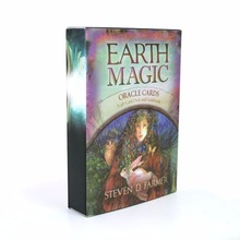 48 oracle cards earth matic, read fate like tarot deck guidance life fortune teller(China)