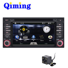 QIMING START 6.2 inch 2 Din Car DVD GPS Player for Livina of Nissan support radio,BT,steering wheel control and Camera