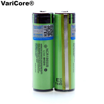 VariCore Protected 18650 NCR18650B Rechargeable Li-ion battery 3.7V With PCB 3400mAh