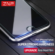 ZNP 9H Tempered Glass For iPhone 7 6 6s 5 5s 4 Plus For Samsung Galaxy S7 S4 S5 S6 Note 3 4 5 Screen Protector film glass