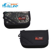 Ilure blazers lure sequins package Fishing gear hook bait  high-grade multilayer fishing lure bag black/camouflage