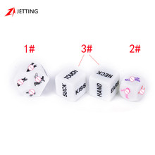 Fun Sex Dice Romance Love Humour Adult Glow In The Dark Sexy Party Game Instructions for Couples(China)