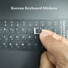 5pcs KR Korean Keyboard Stickers For Macbook Notbook Laptop Computer Keyboard Protector Sticker For iMac