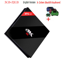 2G 3G/32G 16GB H96 Pro Plus + Amlogic S912 Android 7.1 TV Box Octa Core 2.4G/5.8G WiFi 4K Media Player - Shenzhen Yojia Technology Co., Ltd. store