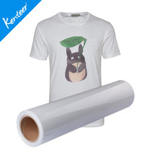 Q5-1 Kenteer high quality 50cm*25m/roll light color printable heat transfer vinyl