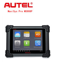 Original AUTEL MaxiSys Pro MS908P Automotive Diagnostic  ECU Programming System with J2534 Reprogramming Box Multi-Language