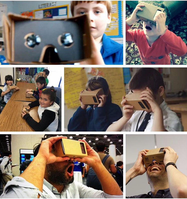 Hot Sale Virtual Reality Glasses Google Cardboard Glasses 3D Glasses DIY VR Box Movies for iPhone 5 6 7 SmartPhones VR Headset_07