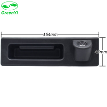GreenYi CCD HD Car Rear View Vehicle Backup Camera for BMW F10 F25 3 Series 5 Series X3 Trunk Handle Boot Lock Switch