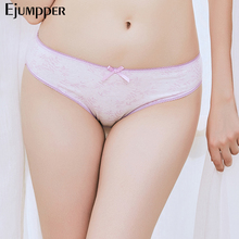 Buy EJUMPPER Pack 5 PCS Women Underwear Cotton Sexy Panties Floral Printed Low Rise Girls Ladies Briefs Knickers Lingerie