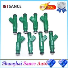 ISANCE 8Pcs Flow Matched Fuel Injector 0280155968 0280156127 For Audi BMW Chrysler Dodge Ford Mitsubishi Plymouth VW Lancia(China)