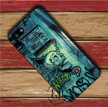 Street Graffiti one piece case for iphone X 4 5 5s SE 5c 6 6s 7 8 Plus Samsung s3 s4 s5 mini s6 s7 s8 edge plus Note 3 4 8(China)