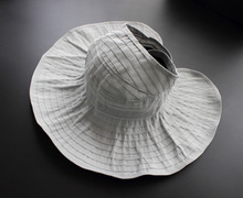 Mr.Kooky 2017 New Fashion Spring Summer Half Empty Top Caps Women Ladies Sunscreen Wide Brim Beach Folding Sun Hats Adjustable(China)