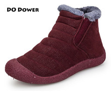 Buy 2017 New Men Winter Warm Fur Winter Shoes Snow Shoes Flock Men Sneakers Ankle Boots Autumn Women Running Shoes Boots Comfortable for $29.28 in AliExpress store