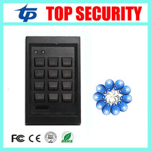 Proximity card 125KHZ EM card access control panel standalone single door access control reader door security door opener(China)